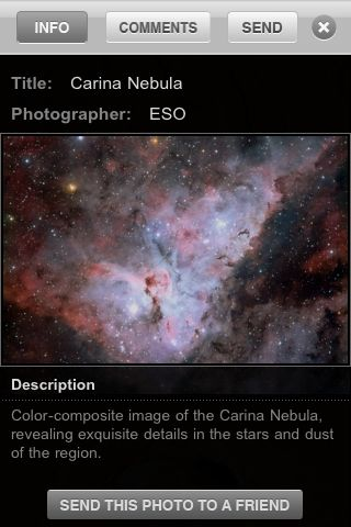 Cosmic Discoveries App - 4