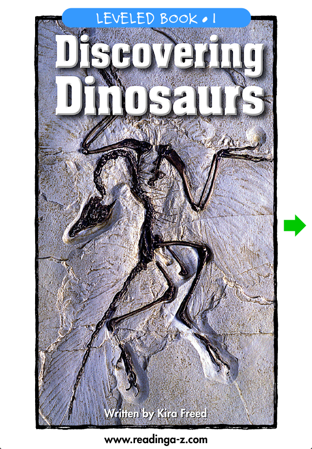 Discovering Dinosaurs - LAZ Reader [Level I–first grade]-1