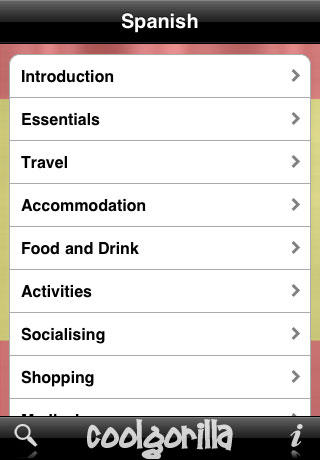 Spanish Talking Phrasebook App - 1