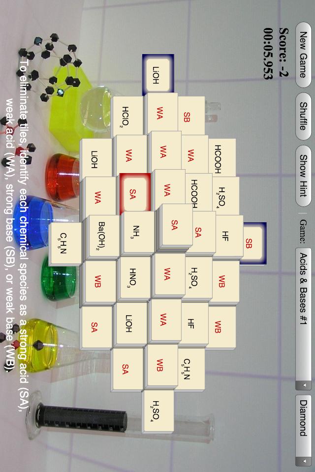 Mahjong Chem App - 3