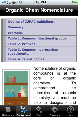 Organic Chemistry Nomenclature Quizillator