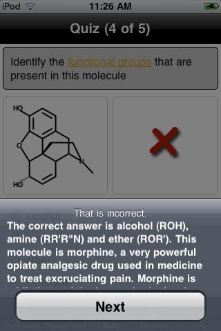 Organic Chemistry Nomenclature Quizillator App - 5