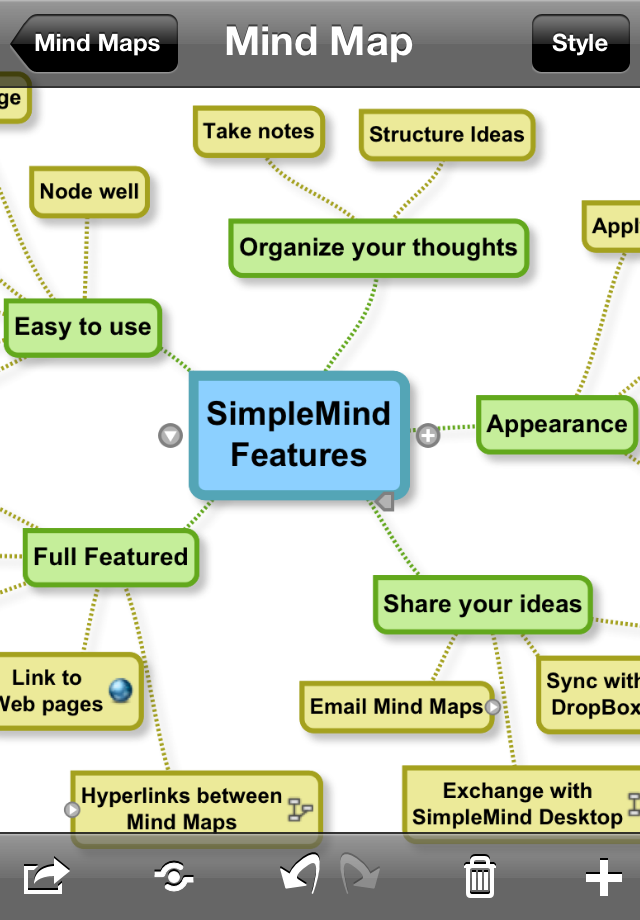 SimpleMind for iPad (mind mapping) App - 1