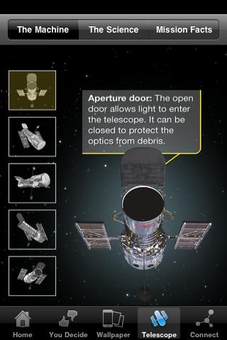 HubbleSite App - 4