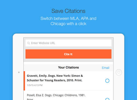 EasyBib: Automatic Bibliography Generator and Citation Machine-1