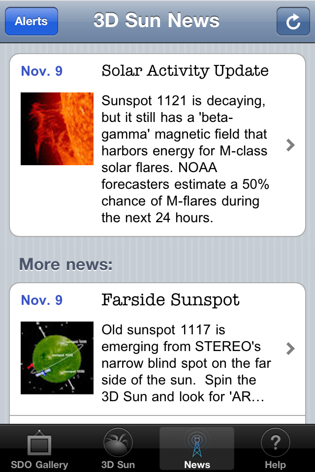 3D Sun App - 1