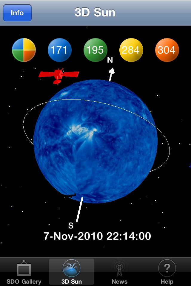 3D Sun App - 3