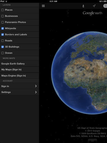 Google Earth Review Educational App Store