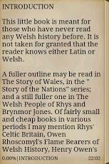 Short History of Wales App - 2