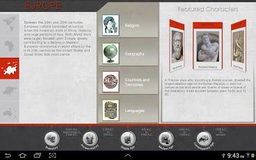 Timeline: World History App - 3
