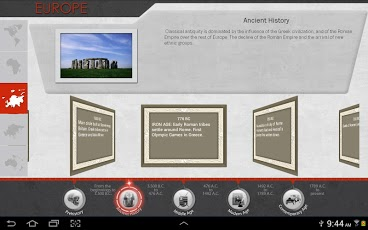 Timeline: World History App - 5
