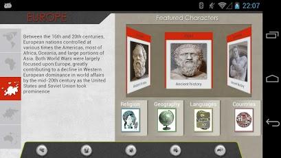 Timeline: World History App - 7