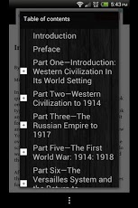 A History of our World App - 3