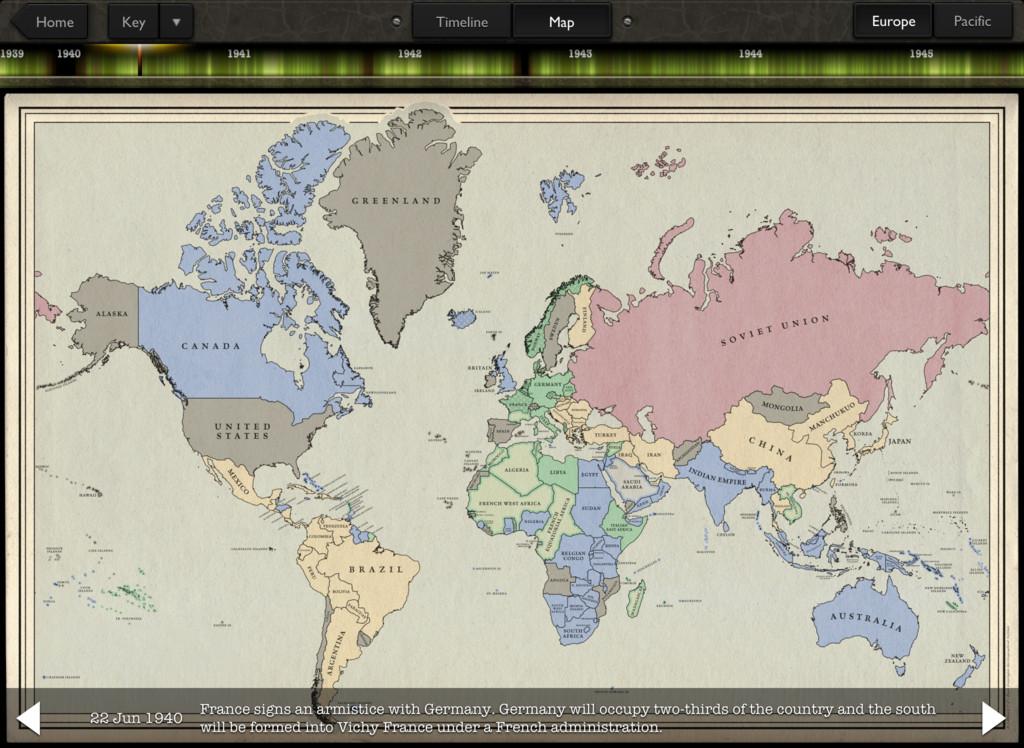 Timeline WW2 with Dan Snow App - 3