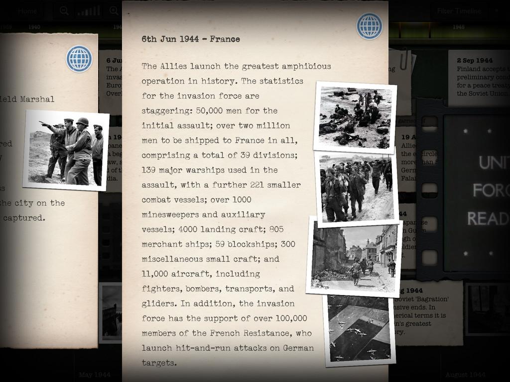 Timeline WW2 with Dan Snow App - 4