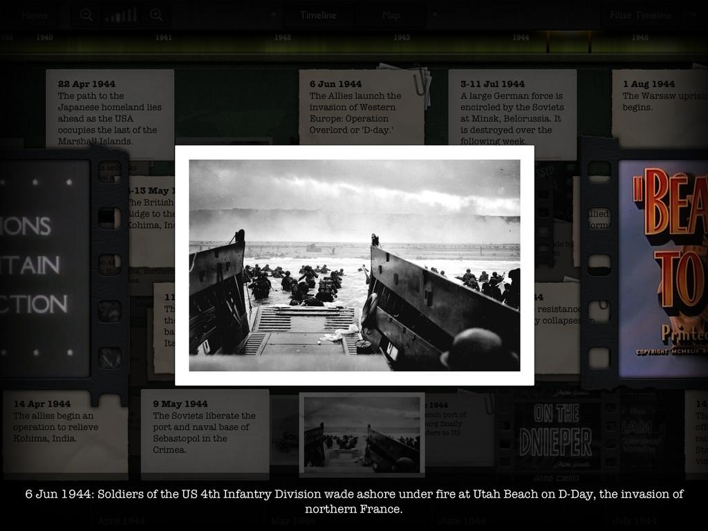 Timeline WW2 with Dan Snow App - 5