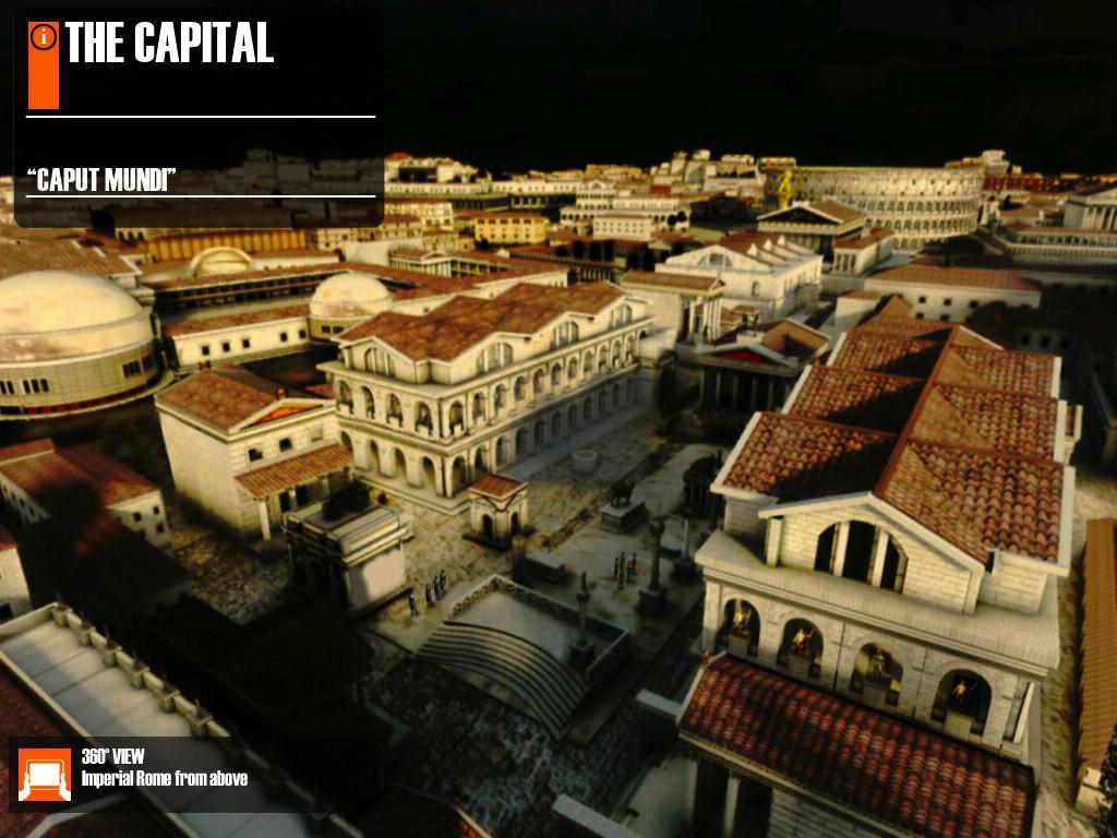 Virtual History - ROMA App - 1