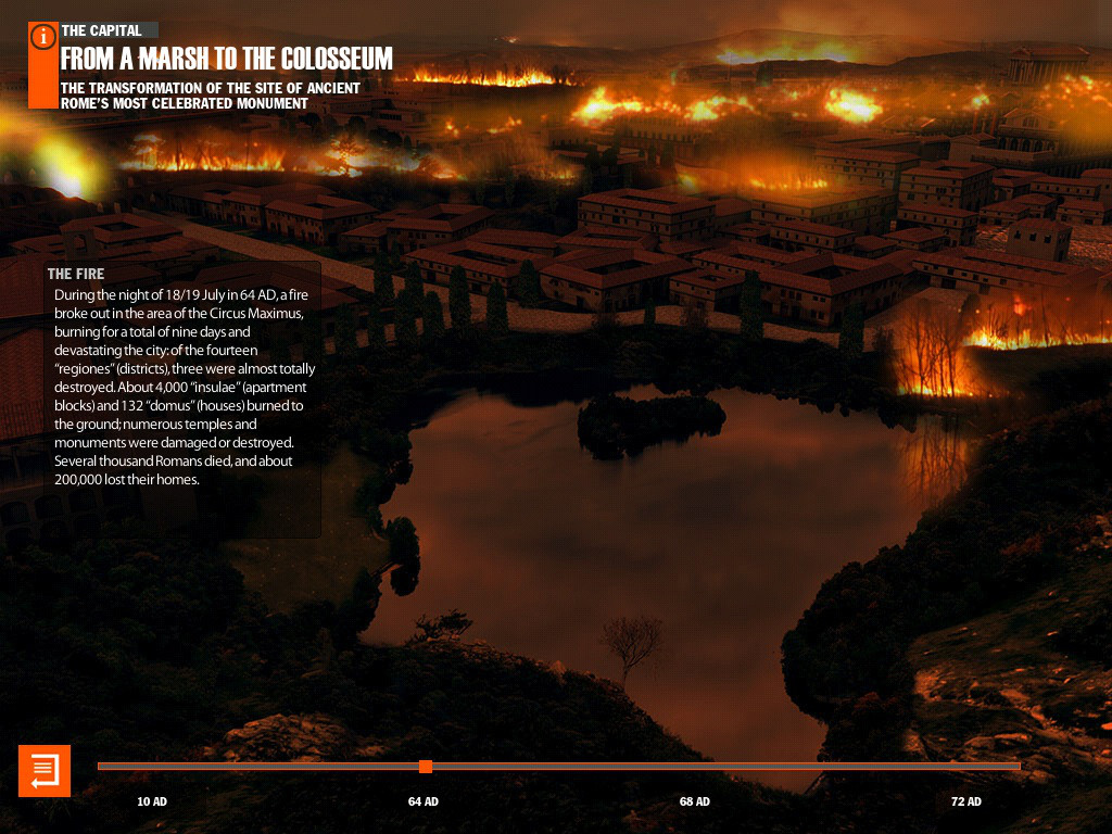 Virtual History - ROMA App - 3