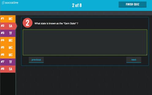 Socrative Student App - 2