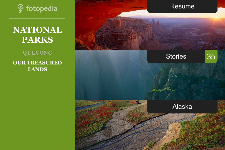 Fotopedia National Parks App - 1