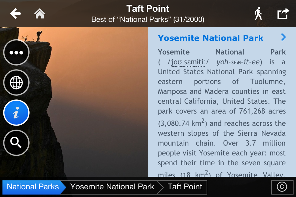 Fotopedia National Parks App - 3