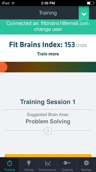 Fit Brains Trainer App - 1