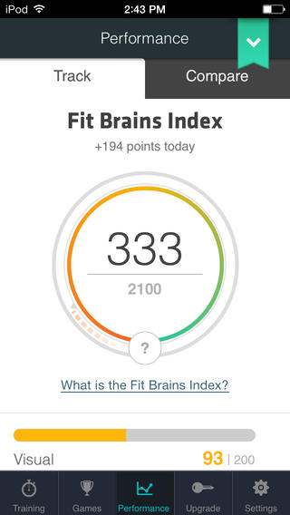 Fit Brains Trainer App - 5