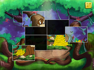 Live Puzzle! Forest Animals-2