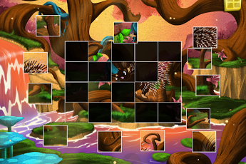Live Puzzle! Forest Animals-4