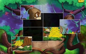 Live Puzzle! Forest Animals-6