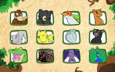 Live Puzzle! Forest Animals-7