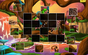 Live Puzzle! Forest Animals-9