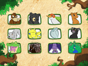 Live Puzzle! Forest Animals-10
