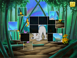Live Puzzle! Forest Animals-11