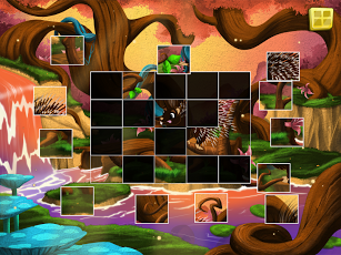 Live Puzzle! Forest Animals-13
