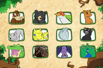 Live Puzzle! Forest Animals-16