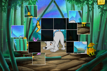 Live Puzzle! Forest Animals-17