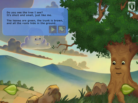 The Tree I See - Interactive Storybook App - 1