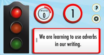 Silent Light - Classroom Timer and Decibel Meter