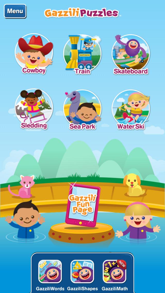 GazziliPuzzles App - 1