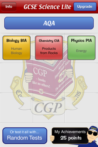 Test & Learn Lite — GCSE Science App - 1
