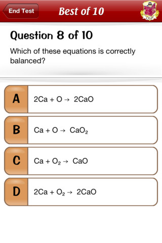 Test & Learn Lite — GCSE Science App - 3
