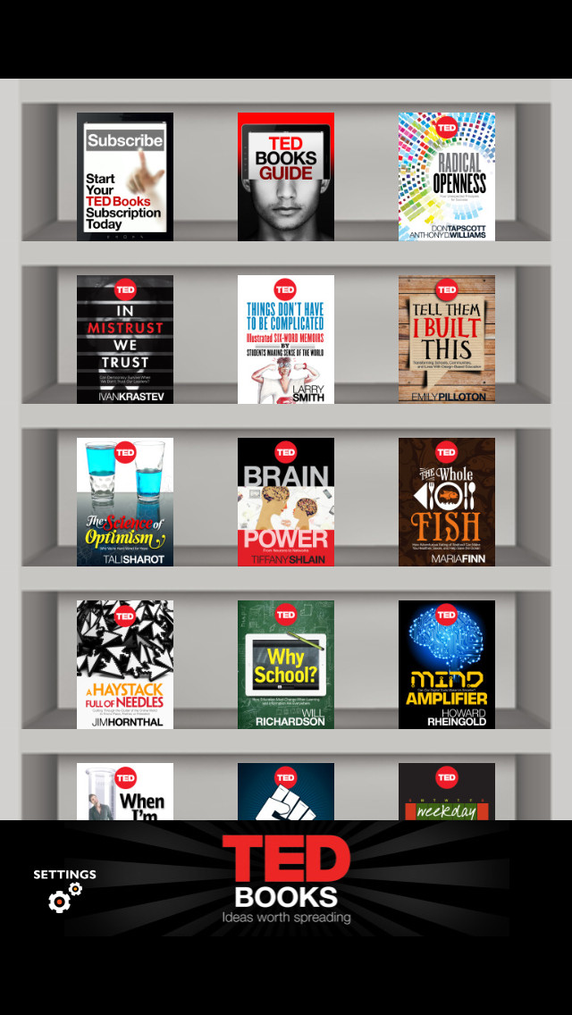 TED Books App - 1