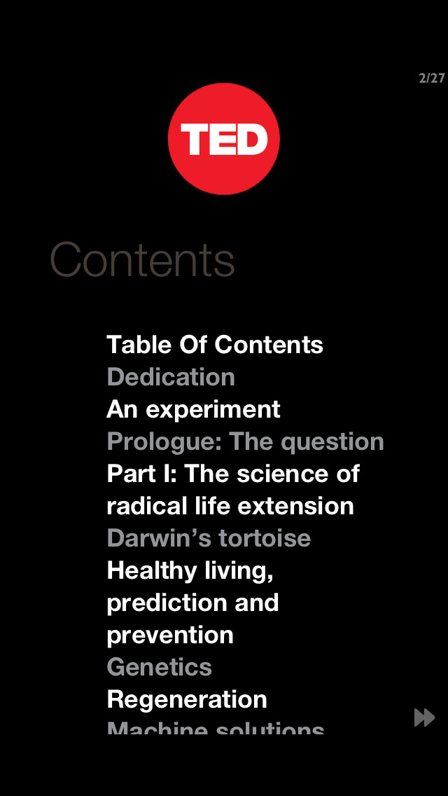 TED Books App - 3