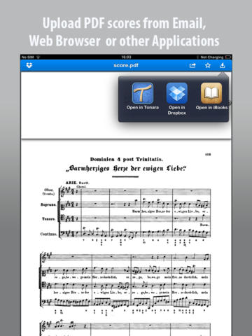 Tonara Sheet Music App - 2