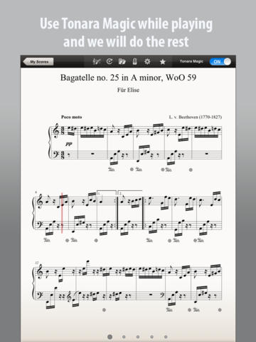 Tonara Sheet Music App - 3