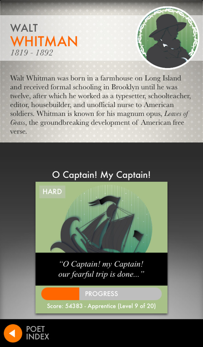 Poems By Heart from Penguin Classics App - 4