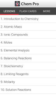 Chem Pro: Chemistry Tutor App - 1