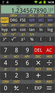 RealCalc Scientific Calculator App - 1