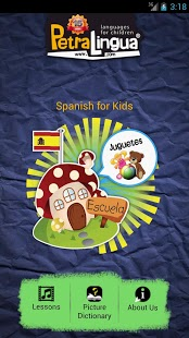 Spanish For Kids App - 2